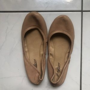 Lucky Emmie Flats - Nude Size 6 NEVER WORN